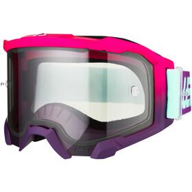 Leatt Velocity 4.5 Anti Fog Gafas, rosa/azul
